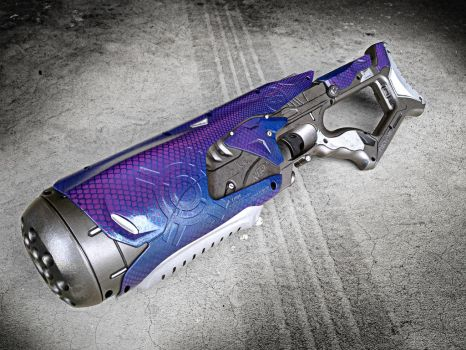 Nerf Halo Covenant Weapon by meandmunch