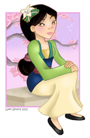 Mulan by Leenspiration