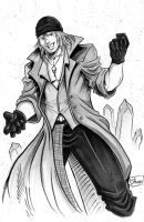 INKTOBER DAY 29: Final Fantasy XIII: Snow Villiers by Shono