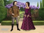 George, Duke Of Clarence And Isabel Neville by CookieCat45
