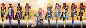 Army of Batgirls by Toe-Knee-Bee-Ears