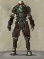 The modified soldier by genek