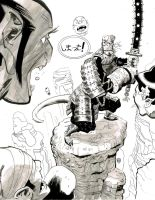 Hellboy Samurai Commission by Stephen-Green