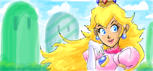 peach graf by thweatted