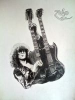 Jimmy Page by LaceyAndTheLevee
