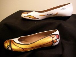 Monarch Fancy Shoes 2 by KimsButterflyGarden