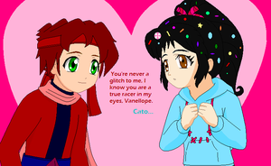 Wreck It Ralph AU - Cato's Words to Vanellope by dannichangirl