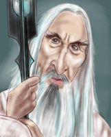 Saruman the White by adavis57