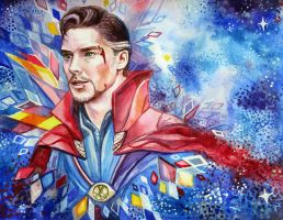 Doctor Strange by Feyjane
