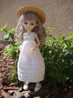 Violet summer dress by skelly-jelly