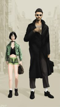 Leon The Professional by Xialousi