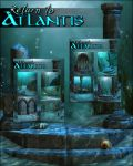 Return to Atlantis Backgrounds by cosmosue