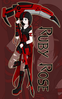 RWBY: The Grimm Side - Ruby Rose by TheBlackNeko