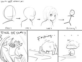 How to NOT Artblock #1 by Yuzas