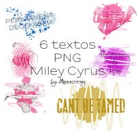 Textos PNG Miley Cyrus by likeeasoong