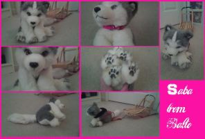 Saba from balto Custom plushie W.I.P by AgentWhiteHawk
