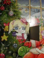 *day 5* Chibi Rima * 19 days to Christmas* by Etsuko-Hime