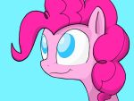 Pink with Blue and some Black, White, and Grey by Scoot0i0i08