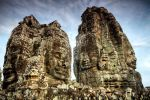 Face towers of the Bayon II by MotHaiBaPhoto