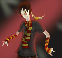 Harry Potter Being Cool by Tigrantia