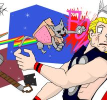 The Unstoppable Nyan Cat by PKelton
