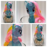 Dewdrop Dazzle Sea Pony by TiellaNicole