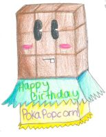 Happy Birthday pokapopcorn by TopHat-And-Tentacles