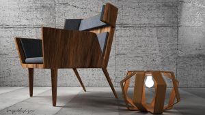 Colin Armchair by KRYPT06
