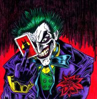 The Joker by kinxmizu