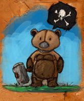 Death Teddy by HarshRealities