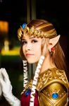 Princess Zelda... by LayzeMichelle