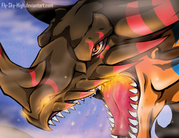 GEOGREYMON!!! by Fly-Sky-High