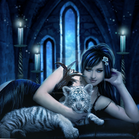 Tigress by EnchantedWhispersArt