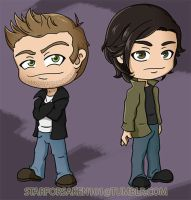 The Winchesters (Chibi) by Starforsaken101