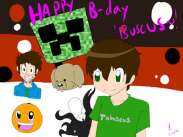 Happy B-day Buscus (late~!) by richtofenluvr