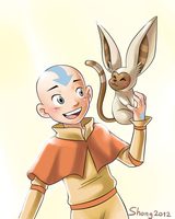 Aang 'n Momo by shongcredible