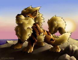 Arcanine by snoot