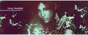 Claire Redfield sign by Vicky-Redfield