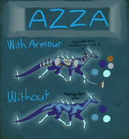 Azza reference by Hazelthedragoness