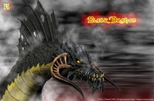 Black Dragon by Tideger