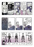 Life Comics - I've Been Boring by carcadann
