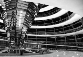 Reichstag Dome by squarepush