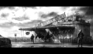 Desolate Market by etwoo