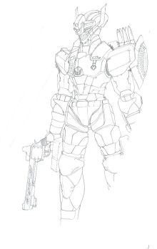 Sniper Knight Concept by WhiteHawk91