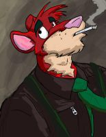Smokin' by RedRodent