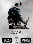 A.V.A Game Icon by MeGaZiPP