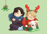 In a mood for holidays, John? by geeky-sova