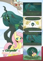 Chrysalis's fluttered adventure Chinese p1 by HowXu