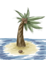 Palm tree by SnapDragonStudios