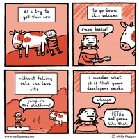 A Problem with Cows by mellapants